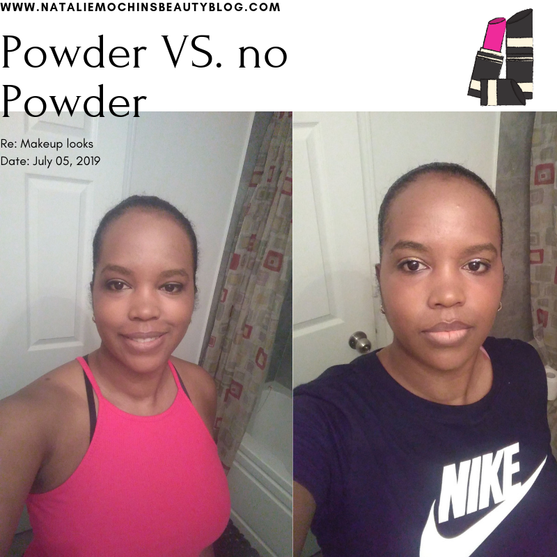 Powder VS. no Powder